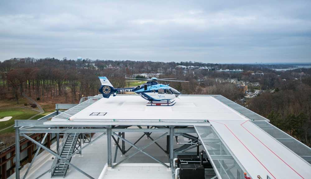 Rooftop Helipad, Northwell Health System | Manhasset, NY